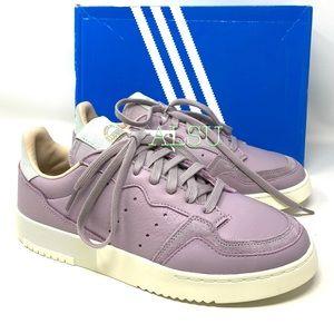 Adidas Supercourt Leather Women's Sneakers Purple